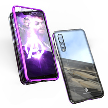 Luxury Magnetic Metal Transparent Case For Huawei P30 Pro P2