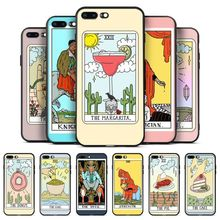 Babaite Egypt mysterious Tarot Divination Soft Silicone Patterned phone Case For iPhone 8 7 6 6S Plus X XS MAX 55S SE XR cover inonler зеленый iphone 55s
