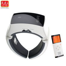 KIKI Beauty World.Wireless Remote Control Neck massager.health care.Cervical therapy instrument.beauty & health