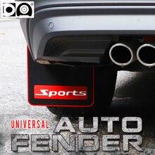 Auto fender flare Mudguards Front rear wheel protector Mud flaps Splash guard dirt-board fit for Chevrolet Nissan Skoda  Peugeot