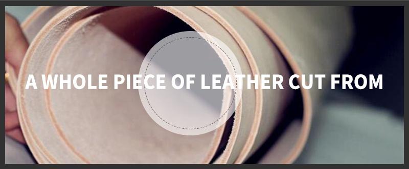 حزام COWATHER جلد طبيعي للرجال 9