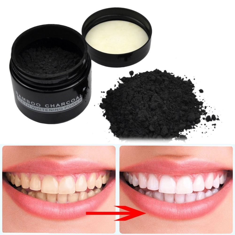 Natural Bamboo Activated Charcoal Tooth Whitening Whitener