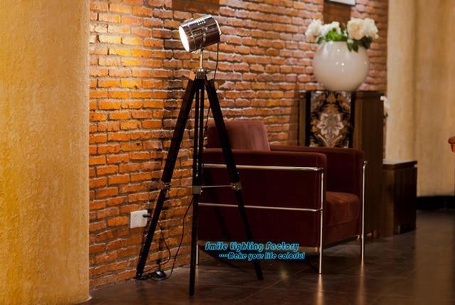 Creative Pays Du0027amérique Lampadaire De Style Contemporain Trépied Projecteur  Chambre, Salon Hauteur Réglable