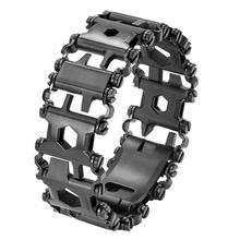DreamBell для мужчин открытый сращены браслет многоцелевой носить отвёртки инструмент ручной цепи полевое, для выживания