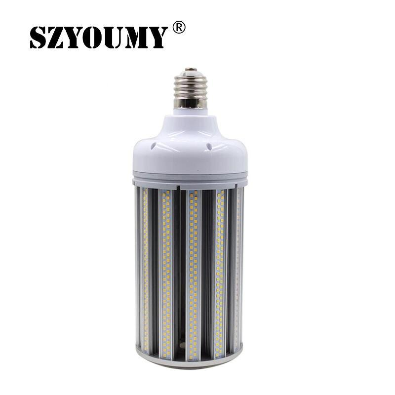 80 W 100 W 120 W 150 W Светодиодный Светодиодная лампа кукуруза E39 E40 белое свечение, теплое белое свечение, Цвет светодиодный Светодиодная лампа для уличного склад Автостоянка лампы