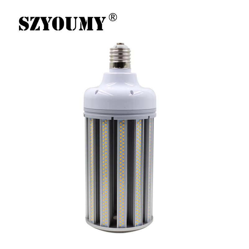 80W 100W 120W 150W LED Corn Bulb E39 E40 White Warm White Color LED Corn Light For Street Warehouse Parking Lot Lamps 2015 e27 e40 ac85 265v 5730smd leds 35w 45w 55w 65w 80w 100w 120w led corn light bulb white warm white high power lamp lighting