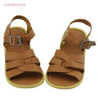 COPODENIEVE Summer Beach Boy Sandals Kids Genuine Leather Shoes Fashion Sport Sandal Children Sandals Boys Leather