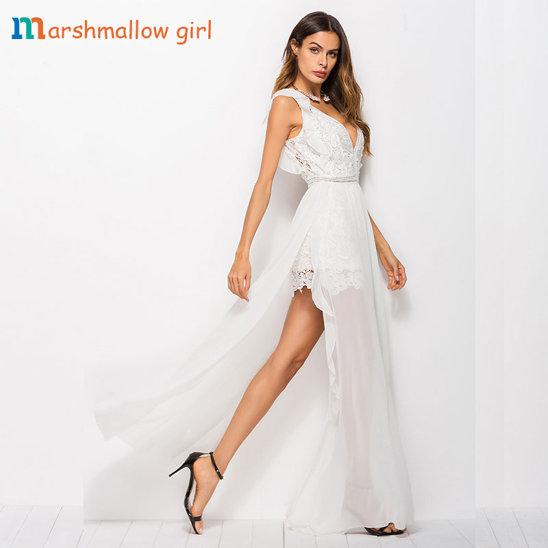 3763d511c9ea2 Maxi D'été Robe Fiesta Fille Vestidos Sans Longue Blanc V Femmes 8n0wkOP