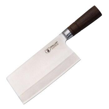 Golpe cuchillo cocinero chino cleaver cuchillo 7,5 pulgadas japonés Damasco Acero inoxidable cuchillo de pescado herramientas de cocina