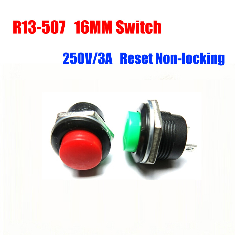 50//100PCS 8X8 Plastic Red Switch Button Cap Reset Button touch Switch