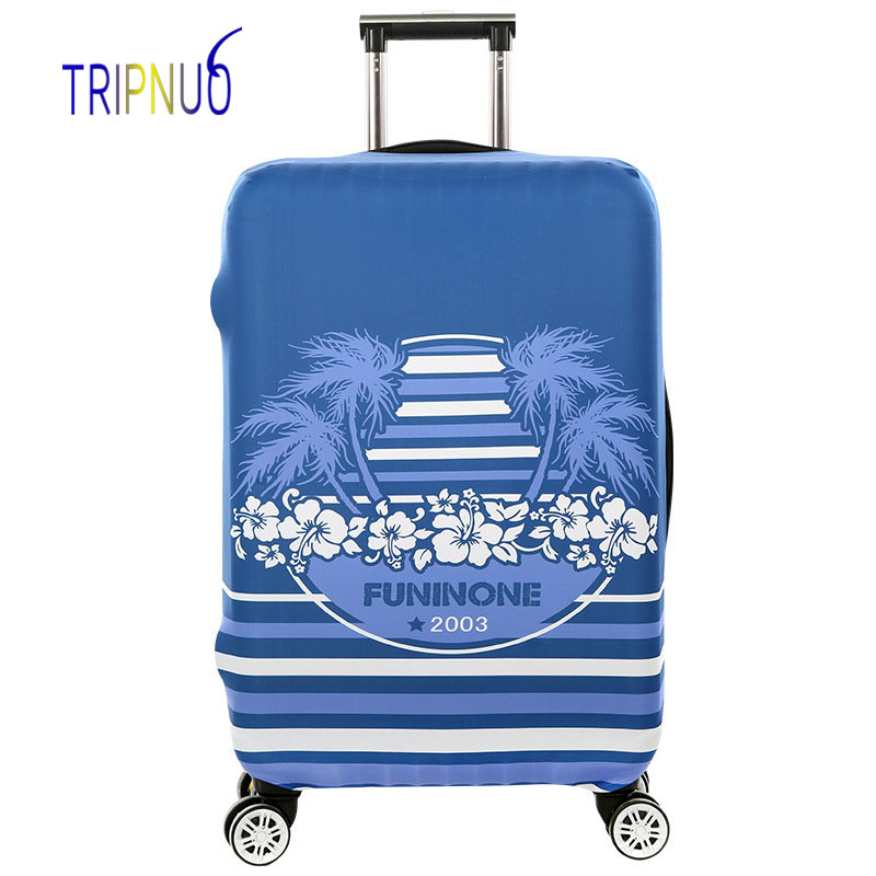 TRIPNUO дорожные аксессуары чемодан защитные чехлы эластичность дерево Чемодан Чехлы для 18-32 дюймов толстый чемодан Крышка