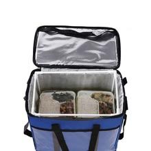 45л большая Термосумка-холодильник для еды, изолированная Большая вместительная многофункциональная Ланч-бокс bolsa termica, сумка-холодильник picknick cool