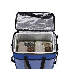 45L Grande Termico Cibo Sacchetto Più Freddo Sacchetto di Isolamento di Grande Capacità Multi funzione Scatola di Pranzo bolsa termica sacchetto più freddo picknick freddo