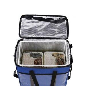 Image 1 - 45L 大熱食品クーラーバッグ断熱大容量多機能ランチボックスボルサ termica クーラーバッグ picknick クール