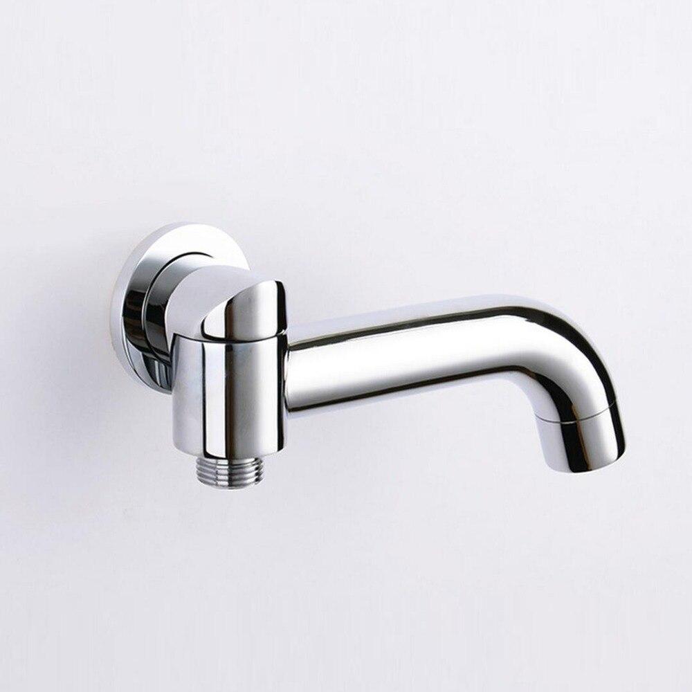 Single Tube Bathroom Faucet Accessories Rotation tub shower spout ...