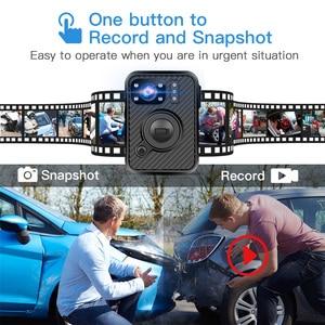 Image 2 - BOBLOV Wifi Polizei Kamera F1 32GB Körper Kamera 1440P Getragen Kameras Für Recht Durchsetzung 10H Aufnahme GPS nachtsicht DVR Recorder