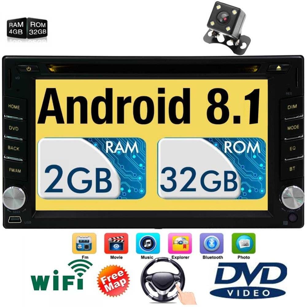 Mirrorlink 7 inch car audio Radio Octa Core Android 8.1 System 2GB RAM 32GB ROM in Dash Headunit GPS Navigation Bluetooth Wifi