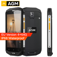 AGM A8 EU Version IP68 Waterproof Phone 5 0 Inch Snapdragon MSM8916 Quad Core 4GB RAM