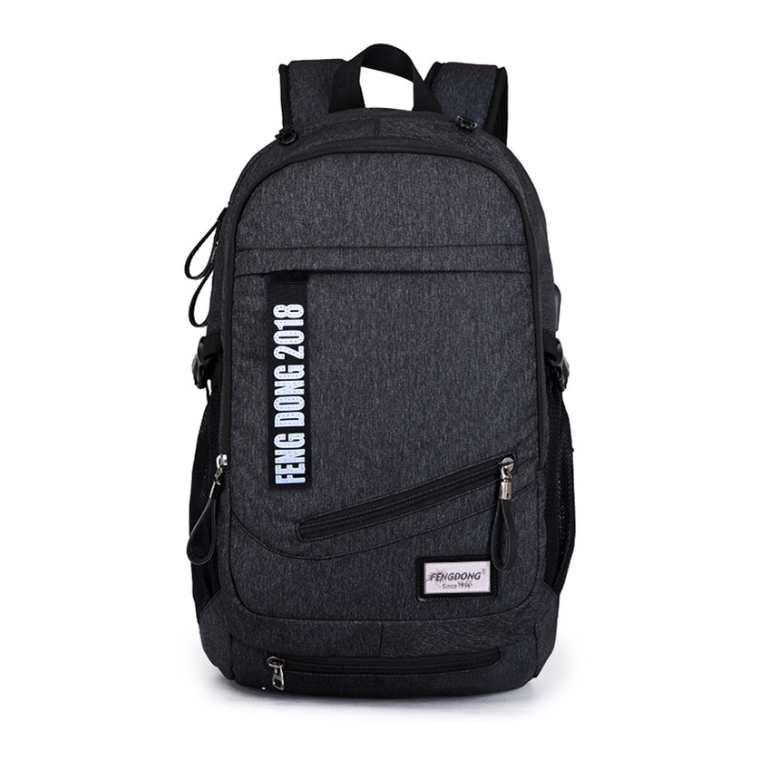 boys school bags men black USB backpack for school male backpacks big student notebook bag women travel bags bookbag back pack men backpack student school bag for teenager boys large capacity trip backpacks laptop backpack for 15 inches mochila masculina
