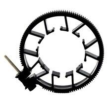Регулируемое зубчатое кольцо для ремня непрерывного фокусировки 75~ 85 мм 65-75 мм 55-65 мм для объектива DSLR Mod 0,8