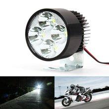 4 LED Lights Motor Bike Car Head Lamp 12V-85V 9W Super Bright Spot Light