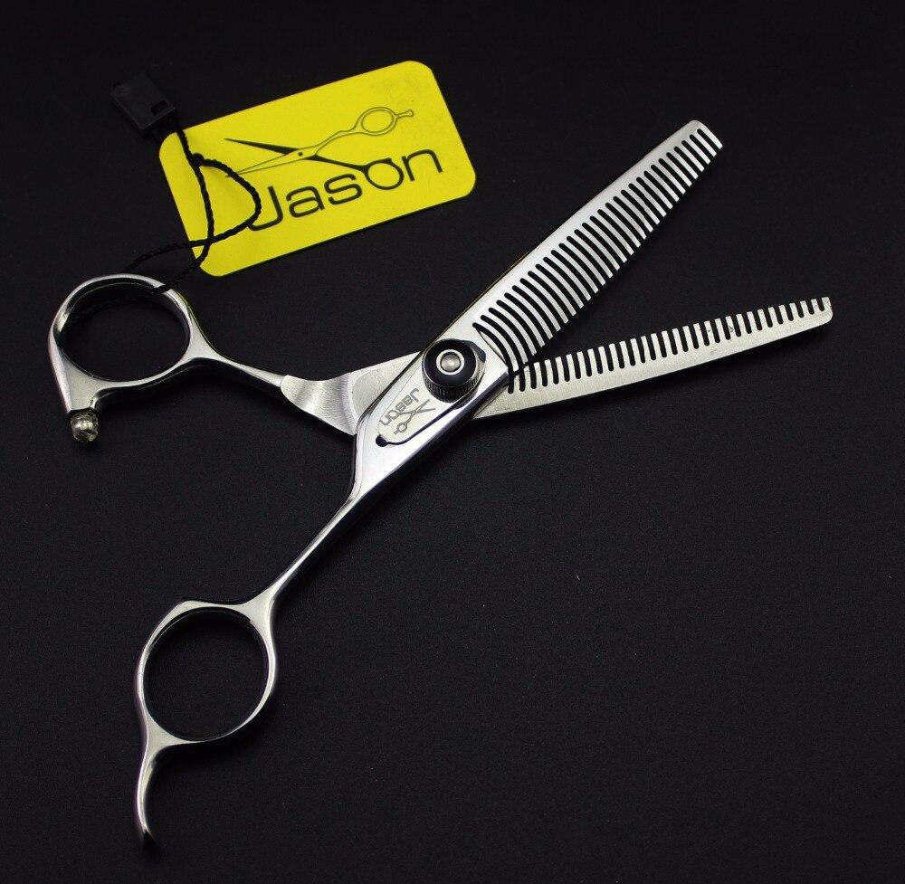 ФОТО Jason High Quality Professional 6 inch Hair Scissors Barber Hairdressing Shears Hair Thinning Scissors Hair Makas