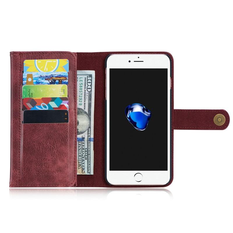 Capa iPhone 7 8 Plus ռետրո բնօրինակ կաշվե շքեղ - Բջջային հեռախոսի պարագաներ և պահեստամասեր - Լուսանկար 4
