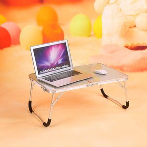 Image 4 - Floding Laptop Table Portable Folding Small Camping Table Picnic BBQ Table Party PC Notebook Laptop Desk