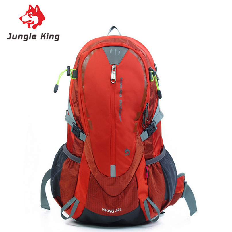 Jungle King 40L Climbing Bags Unisex Sports Bag Lightweight Waterproof Outdoor Backpack Travel Trekking Climbing Cycling Bag local lion spo464 outdoor cycling climbing ultra light breathable double shoulder bag backpack red