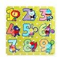 Мода Деревянный Дети 16 Шт. Jigsaw Игрушки Для Детей Образование И Обучение Головоломки Игрушки Бесплатная Доставка