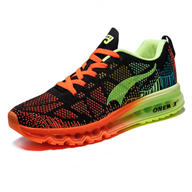 Onemix men's sport running shoes music rhythm men's sneakers breathable mesh outdoor athletic shoe light male shoe size EU 39-46 baja 5b dirt tire set 2pc front 2pc rear