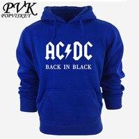 AC DC Band Rock Hoodies Men S Sweatshirt Long Sleeve Cotton Thick Hoody For Men