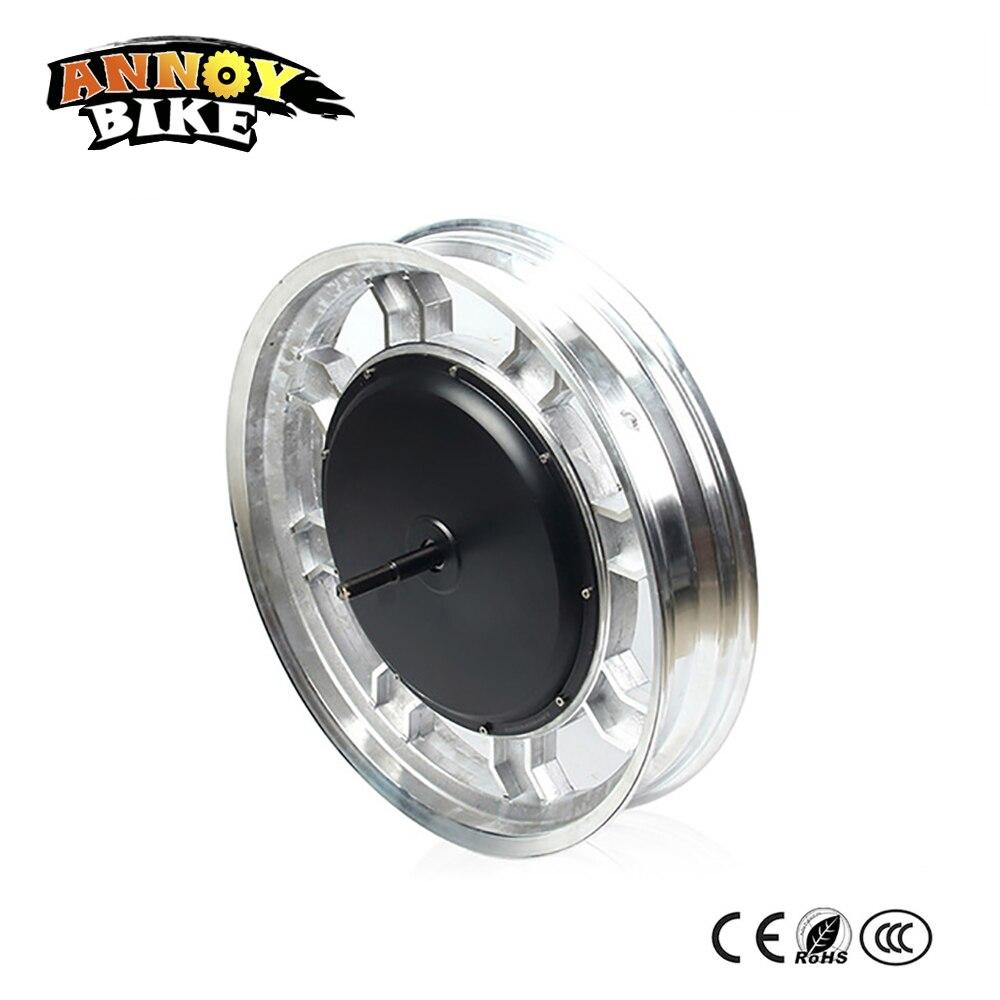 17inch 60V 1200W single wheel electric motorcycle motor Wheelbarrow цена и фото