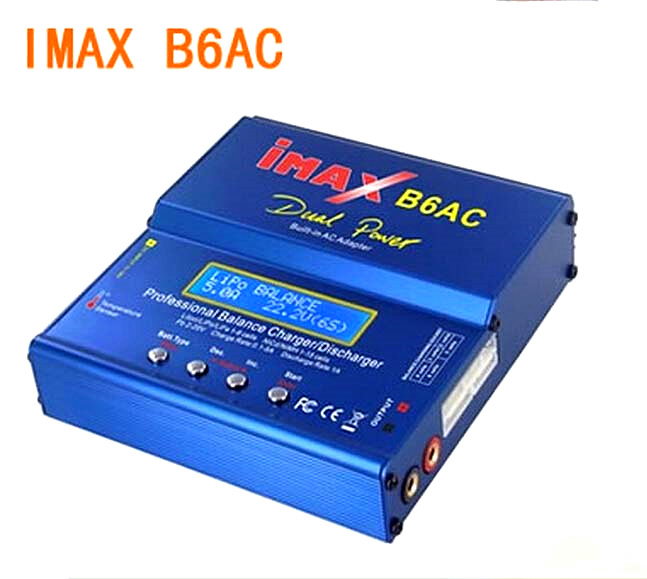 SKYRC iMAX B6AC V2 Professional Balance Charger 1:10 RC Car #SK-100008-11 skyrc sk 800084 01 b6 mini 6a 60w dc11 18v professional balance charger discharger w t 2 6lcd