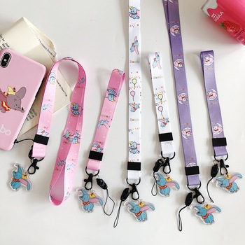 Mobile Phone Strap phone hand Neck Strap cord For Keys ID Card For USB Badge Holder Hang Mobile Rope Cartoon Cute Dumbo Lanyard Cellphones & Telecommunications