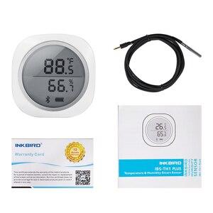 Image 5 - ワイヤレスbluetooth IBS TH1 プラス温度計 & 湿度計アンドロイド & ios用無料アプリ醸造肉植物シガー収納車