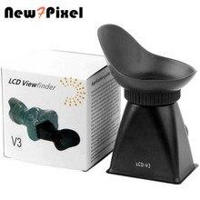 V3 wizjer LCD 2.8x lupa Extender magnetyczne kaptur dla Canon 600D 60D