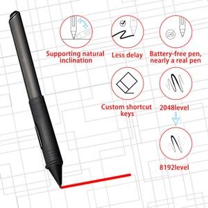 Image 5 - Графический мини монитор Bosto для рисования, волшебная Подставка для планшета для художника с водонепроницаемым экраном и стилусом без батареи, художественная перчатка подставка