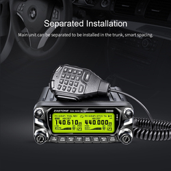 Förderung!! Zastone D9000 50W Walkie Talkie für Auto 12V HF Transceiver Two Way Radio