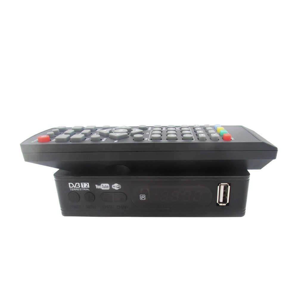 DVB-T2 DVB-T-цифра спутниковый телевизионный ресивер Цифровое ТВ высокой четкости тюнер приемное устройство MPEG4 DVB T2 H.264 наземного приемник декодер каналов ТВ приемник DVB T Декодер каналов кабельного телевидения vs K3