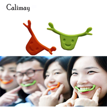 Silicone Mouth Shape Smile Maker Smile Braces Ansigtslinje Muskler Brace Stretching Lifting Training Trainer
