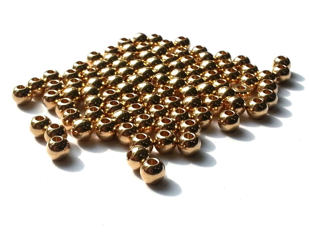 100 Silver Plated Brass 2.5x2mm Finishing Crimp Beads