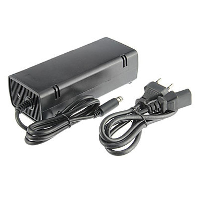 New US/EU Plug Home Wall Power Supply AC Charger Adapter Cable Cord for Microsoft Xbox 360 E 360e Console Host Charging Adaptor
