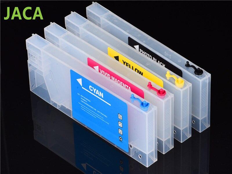 4 unids/lote cartucho de tinta para Roland/Mimaki/Mutoh para la impresora de inyección de tinta para cartucho vacío en 220 ml con 4 colores