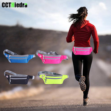 Sport Running Waist Belt Pack Phone Cases Fitness Zipper Bag Armband For iPhone 8 6s 7 Plus For iPhone XS Most Phone debris Bags