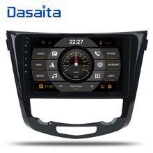 Dasaita 10,2 «Android 8,0 автомобиль gps радио для Nissan X-Trail Qashqail 2014-2017 с Octa core 4 ГБ + 32 ГБ стерео Мультимедиа