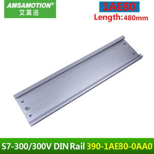 Image 1 - 6ES7390 1AE80 0AA0 For Siemens S7 300 PLC Module DIN Mounting Rail 1AE80 Mounting Rack