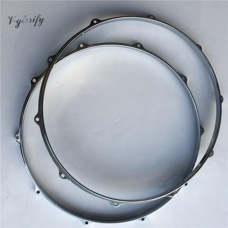14inch 10 hole drum rim drum hoop dia-cast aluminium snare 13 inch double tone afanti music snare drum sna 1236