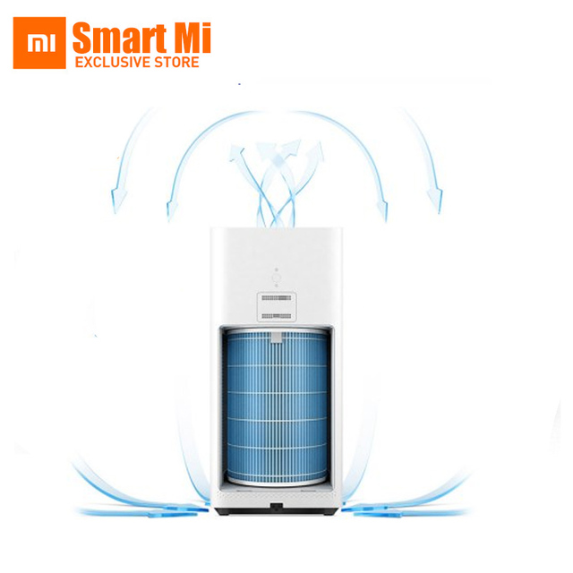 Original Xiaomi Air Purifier 2 CADR 330m3/h In Addition To Formaldehyde Haze Purifiers Smartphone Remote Control