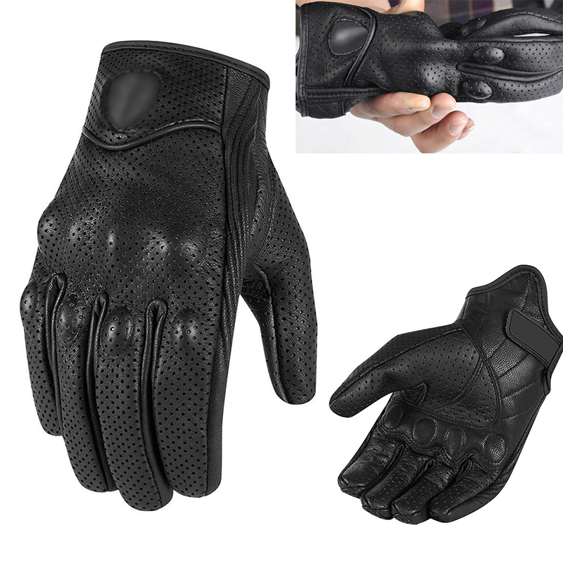1 Pair Motorcycle Gloves Racing Touchscreen Waterproof Gloves Motorcycle ATV Cycling Riding Protective Gears Motocross Gloves